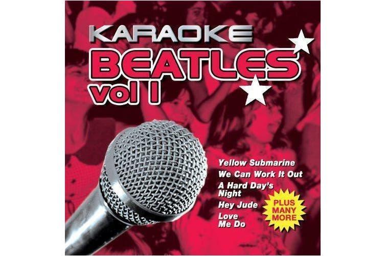 Karaoke Beatles Vol 1: Party Sing-a-long BRAND NEW SEALED MUSIC ALBUM CD