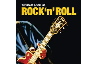 THE HEART & SOUL OF ROCK 'N' ROLL TUTTI FRUTTI, AT THE HOP & MORE CD NEW SEALED