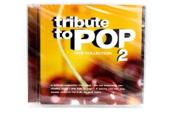 Tribute to POP Hits Collection 2 BRAND NEW SEALED MUSIC ALBUM CD - AU STOCK