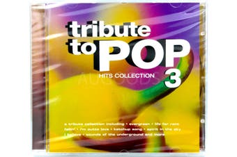 TRIBUTE TO POP VOLUME 3 HITS COLLECTION BRAND NEW SEALED MUSIC ALBUM CD