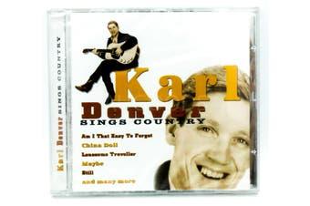 Karl Denver - Sings Country BRAND NEW SEALED MUSIC ALBUM CD - AU STOCK