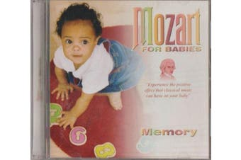 MOZART FOR BABIES / MEMORY BRAND NEW SEALED MUSIC ALBUM CD - AU STOCK
