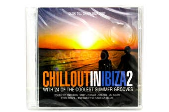 Chillout In Ibiza 2 - 24 Songs BRAND NEW SEALED MUSIC ALBUM CD - AU STOCK
