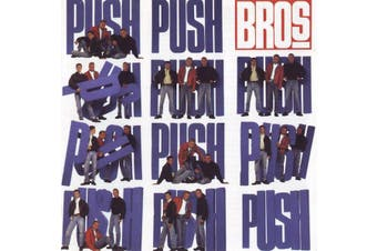 Bros – Push BRAND NEW SEALED MUSIC ALBUM CD - AU STOCK
