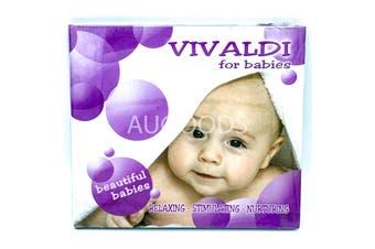 Vivaldi for beautiful babies: relaxing stimulating nurturing MUSIC CD NEW SEALED