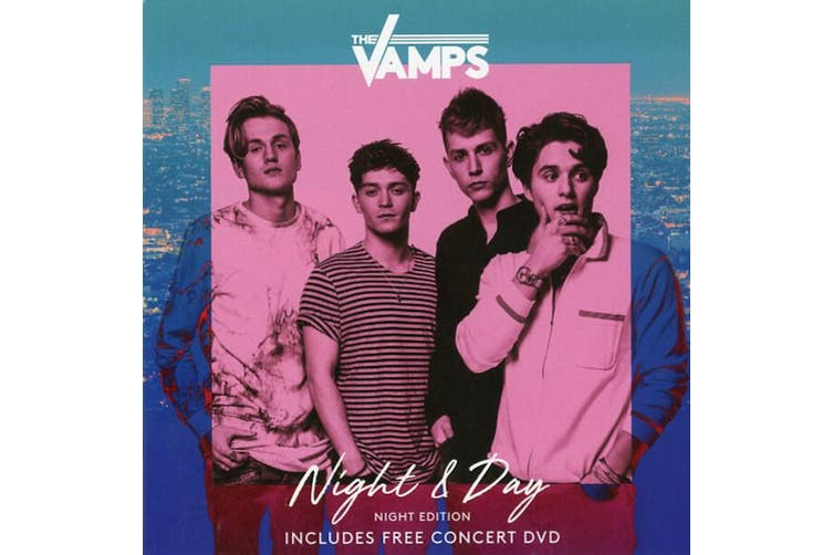 The Vamps  - Night & Day (Night Edition) (Brad Edition) MUSIC CD NEW SEALED