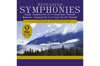 Best Loved Symphonies 2 Disc Set BRAND NEW SEALED MUSIC ALBUM CD - AU STOCK