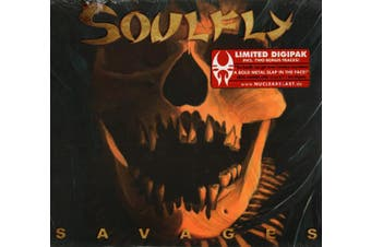 Soulfly - Savages BRAND NEW SEALED MUSIC ALBUM CD - AU STOCK