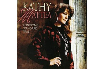 KATHY MATTEA LONESOME STANDARD TIME MOD BRAND NEW SEALED MUSIC ALBUM CD