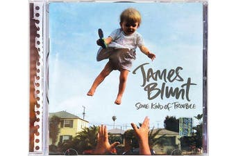"""JAMES BLUNT: """"SOME KIND OF TROUBLE"""" BRAND NEW SEALED MUSIC ALBUM CD - AU STOCK"""