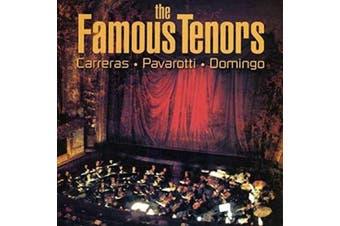 THE FAMOUS TENORS: JOSE CARRERAS LUCIANO PAVAROTTI PLACIDO DOMINGO CD NEW SEALED