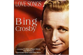 BING CROSBY - LOVE SONGS BRAND NEW SEALED MUSIC ALBUM CD - AU STOCK