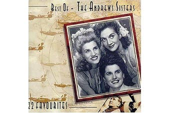 THE ANDREW SISTERS Best Of / 22 Favourites BRAND NEW SEALED MUSIC ALBUM CD