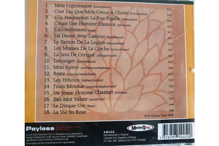 Edith Piaf : La Vie en Rose BRAND NEW SEALED MUSIC ALBUM CD - AU STOCK