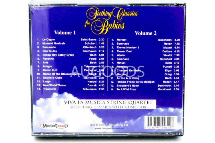 Soothing Classics for Babies - 2 CD Set BRAND NEW SEALED MUSIC ALBUM CD