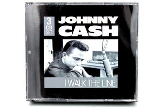 Johnny Cash - I Walk The Line (Greatest Hits) - 3 FATBOX ALBUM CD NEW SEALED
