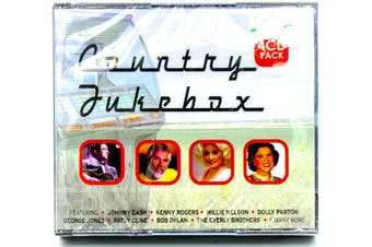 Country Jukebox - 4 DISC BRAND NEW SEALED MUSIC ALBUM CD - AU STOCK