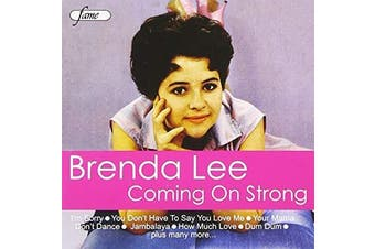 Coming on Strong by Brenda Lee (Jun-2008, Fame) BRAND NEW SEALED MUSIC ALBUM CD