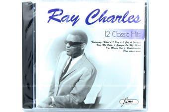 Ray Charles 12 Classic Hits BRAND NEW SEALED MUSIC ALBUM CD - AU STOCK
