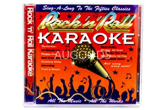 Rock 'n' Roll Karaoke BRAND NEW SEALED MUSIC ALBUM CD - AU STOCK