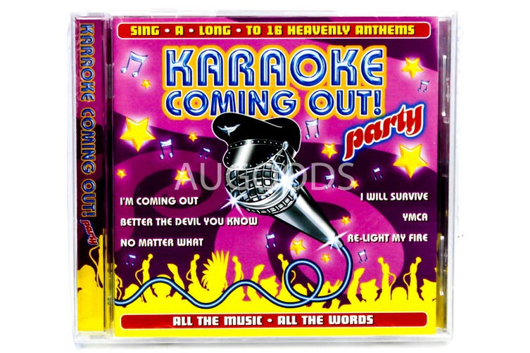 Karaoke Coming Out BRAND NEW SEALED MUSIC ALBUM CD - AU STOCK