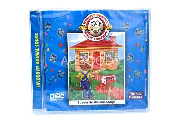 CHILDREN's favourite animals SONG 's BRAND NEW SEALED MUSIC ALBUM CD - AU STOCK