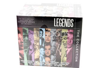 Legends - The Collection 10 DISC Limited Edition Box Set MUSIC CD NEW SEALED