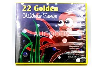 22 Golden Children's Songs BRAND NEW SEALED MUSIC ALBUM CD - AU STOCK