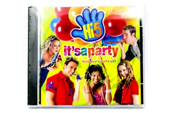 Hi-5 It's a Party BRAND NEW SEALED MUSIC ALBUM CD - AU STOCK