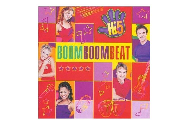 Boom Boom Beat by Hi-5 Sony Music Distribution BRAND NEW SEALED MUSIC ALBUM CD
