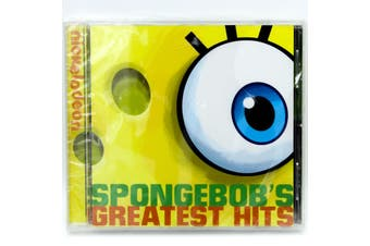 SPONGEBOBS GREATEST HITS BRAND NEW SEALED MUSIC ALBUM CD - AU STOCK