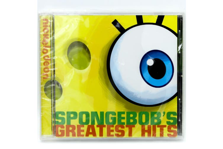 SPONGEBOBS GREATEST HITS BRAND NEW SEALED MUSIC ALBUM CD - AU STOCK