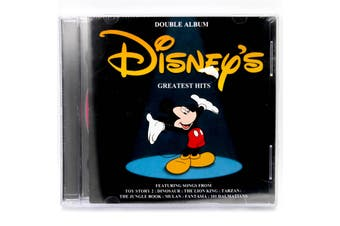 Disney Greatest Hits BRAND NEW SEALED MUSIC ALBUM CD - AU STOCK