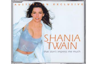 Shania Twain – That Don't Impress Me Much PRE-OWNED CD: DISC EXCELLENT