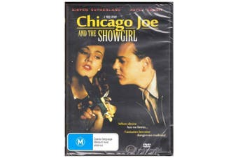 Chicago Joe and The Showgirl 1990 True Story Kiefer Sutherland  DVD NEW SEALED