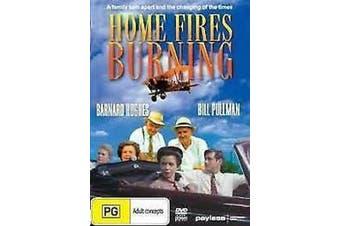 Home Fires Burning Barnard Hughes Region ALL-  MOVIE PAL DVD NEW SEALED