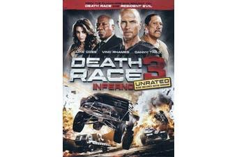 Death Race 3: Inferno - Rare- Aus Stock DVD NEW