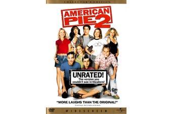 American Pie 2 - Region 1 NTSC -Comedy Region 1 Rare- Aus Stock DVD NEW