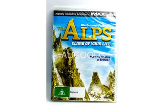 The Alps Climb Of Your Life - Series Rare- Aus Stock DVD NEW