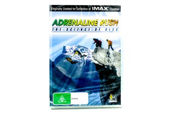 Adrenaline Rush The Science Of Risk - DVD Series Rare Aus Stock New Region ALL