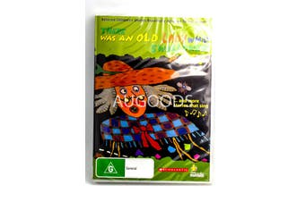 There was an Old Lady who Swallowed a Fly -Kids DVD Series New