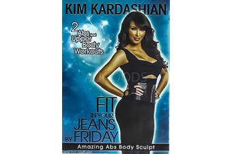 KIM KARDASHIAN: FIT IN YOUR JEANS BY FRIDAY: AMAZING ABS BODY SCULPT - DVD New