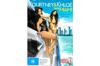 KOURTNEY & KHLOE TAKE MIAMI - DVD Series Rare Aus Stock New Region ALL