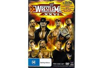 WRESTLE MANIA XXVI - Series Region 4 Rare- Aus Stock DVD NEW