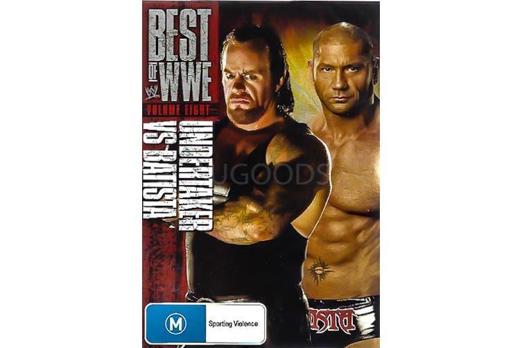 BEST OF WWE: UNDERTAKER VS BATISTA - Series Rare- Aus Stock DVD NEW
