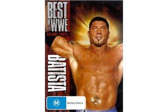 BEST OF WWE BATISTA - Series Region 4 Rare- Aus Stock DVD NEW
