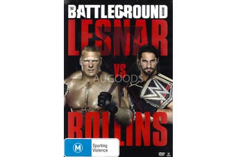 WWE Battleground 2015 - DVD Series Rare Aus Stock New Region 4