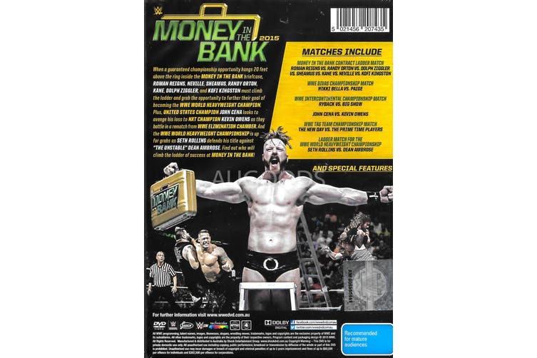 MONEY IN THE BANK - DVD Series Rare Aus Stock New Region 4