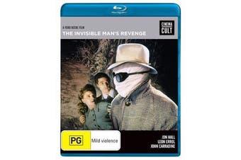 The Invisible Man's Revenge - Rare Blu-Ray Aus Stock New Region B