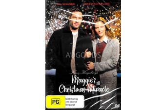 MAGGIE'S CHRISTMAS MIRACLE -Rare DVD Aus Stock -Family New Region 4